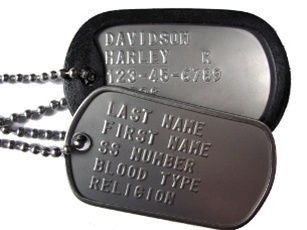 embossed dog tags army navy stores dallas tx army navy stores