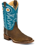 Justin MEN'S COPPER ROUGH RIDER BENT RAIL® BOOT