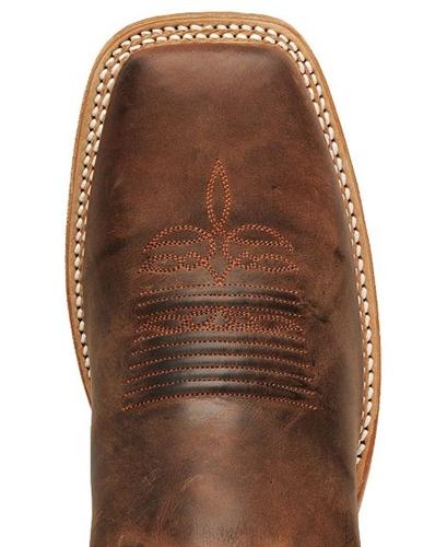 Justin Bent Rail Cognac Ponteggio Cowboy Boots Square To