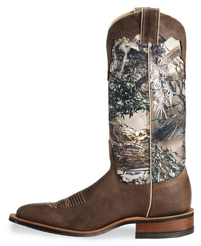 Justin Bent Rail Boots | Camouflage Cowboy Boots