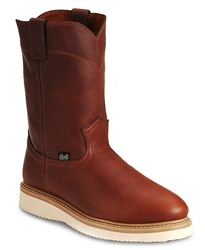 Justin Premium Wedge Work Boots - Soft Toe