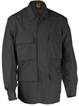 4-Pocket BDU Coats - Black