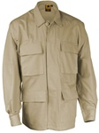 4-Pocket BDU Coats - Khaki