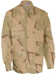 4-Pocket BDU Coats - 3 Color Desert Camo