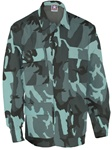 4-Pocket BDU Coats - Midnight Camo