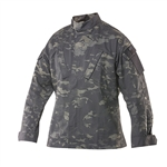 TruSpec Tactical Response Uniform Shirt - Multicam Black