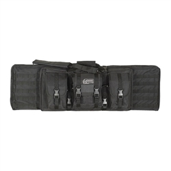Voodoo Tactical 46-inch MOLLE Soft Rifle Case, Padded Weapon Bag