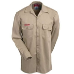 7 oz. Ultra Soft® Dickies FR Long Sleeve Work Shirt