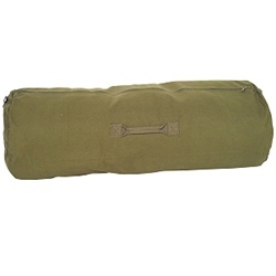 "Zipper Duffel Bag 25"" x 42"""