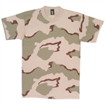 3-Color Desert Camo T-Shirt