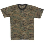 Classic Digital Woodland  T-Shirt