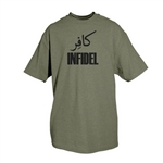 Infidel  One-Sided Imprinted T-Shirt