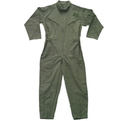 Air Force Zippered Coverall -- Mil-Spec 	OD Green