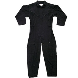 Air Force Zippered Coverall -- Mil-Spec Black