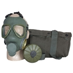 Serbian Army Gas Mask Kit