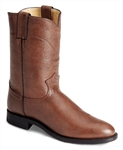 Justin Men's Brown Corona Classic Leather Roper Boots