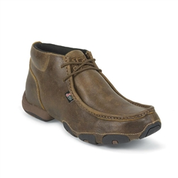 Justin Men's Casual Moc Toe Shoes