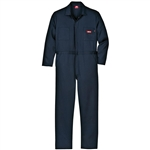 Dickies® Flame-resistant Long-sleeve Work Coveralls, Navy