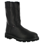 Justin Premium Pull-On Work Boots Black