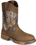 Rocky Aztec Waterproof Pull-on Camo Boot - Round Toe