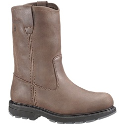 "Wolverine 10"" Brown  Wellington Boot"