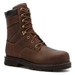 Wolverine® Dark Brown 8in Nolan Slip Resistant Lacer Composite Toe Work Boot