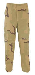 BDU Pants - 3 Color Desert Camo