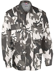 4-Pocket BDU Coats - Urban Camo