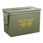 50 cal S.A.W. Ammo Cans FAT50